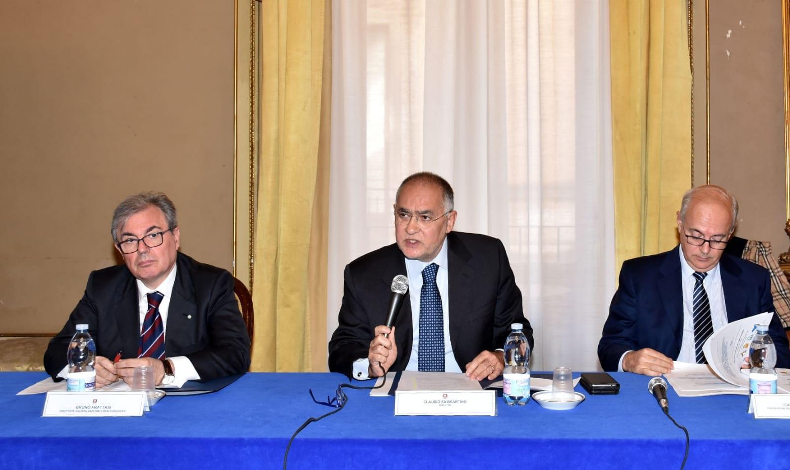 Conferenza di servizi presso la prefettura di Catania