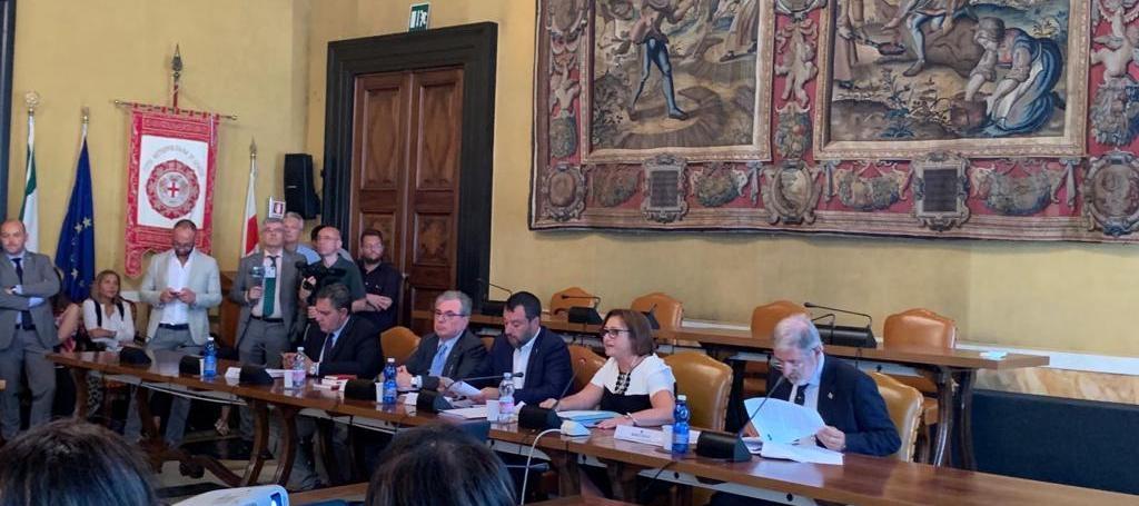 Conferenza di servizi per la destinazione al comune di Genova di immobili confiscati