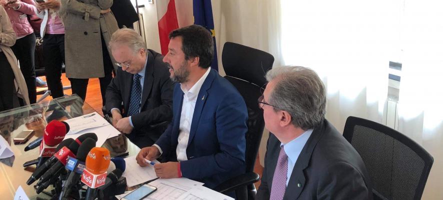 Inaugurata alla presenza del ministro dell'Interno Salvini la nuova sede dell'Agenzia di Milano