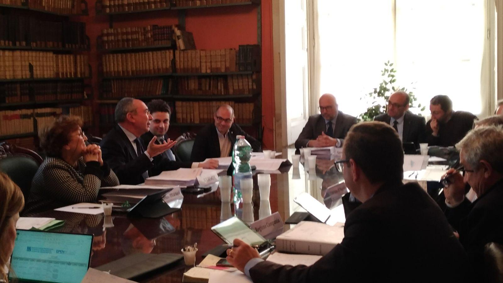 Conferenza di servizi presso la sede ANBSC di Napoli