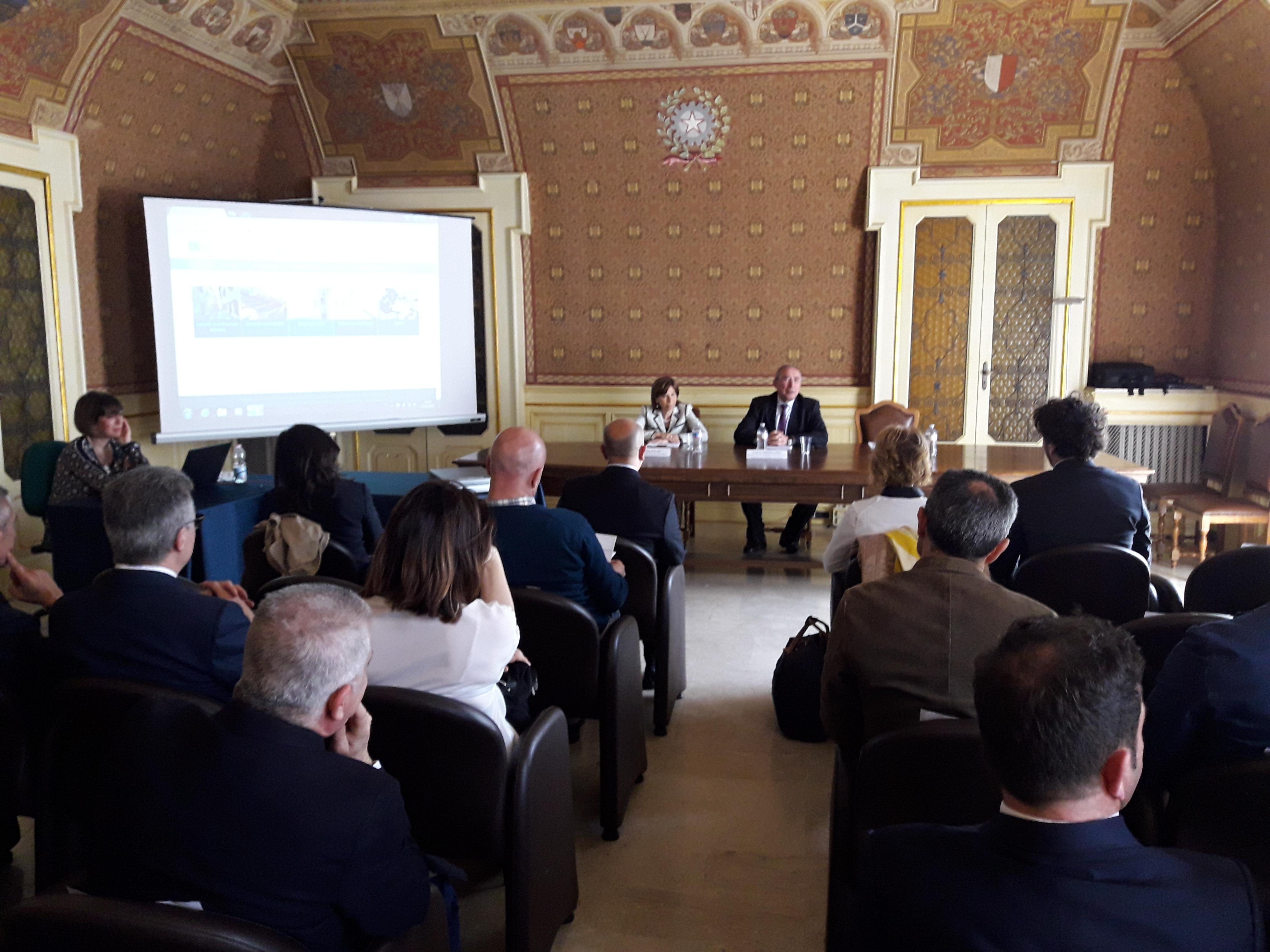 Conferenza di Servizi presso la Prefettura di Bari
